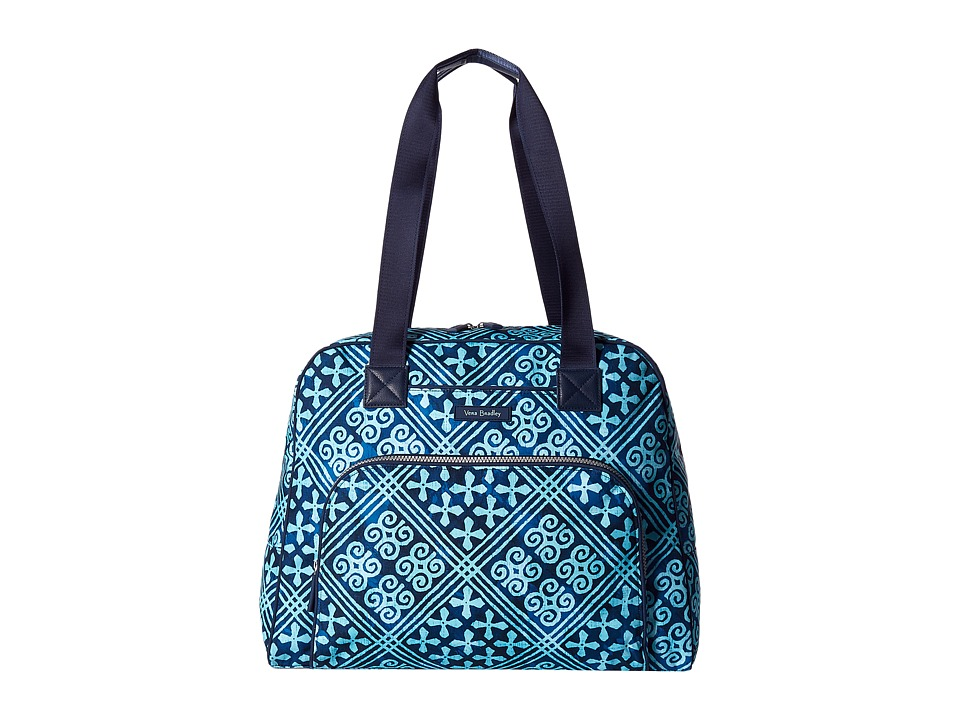 Vera Bradley Luggage - Go Anywhere Carry-On (Cuban Tiles) Carry on Luggage