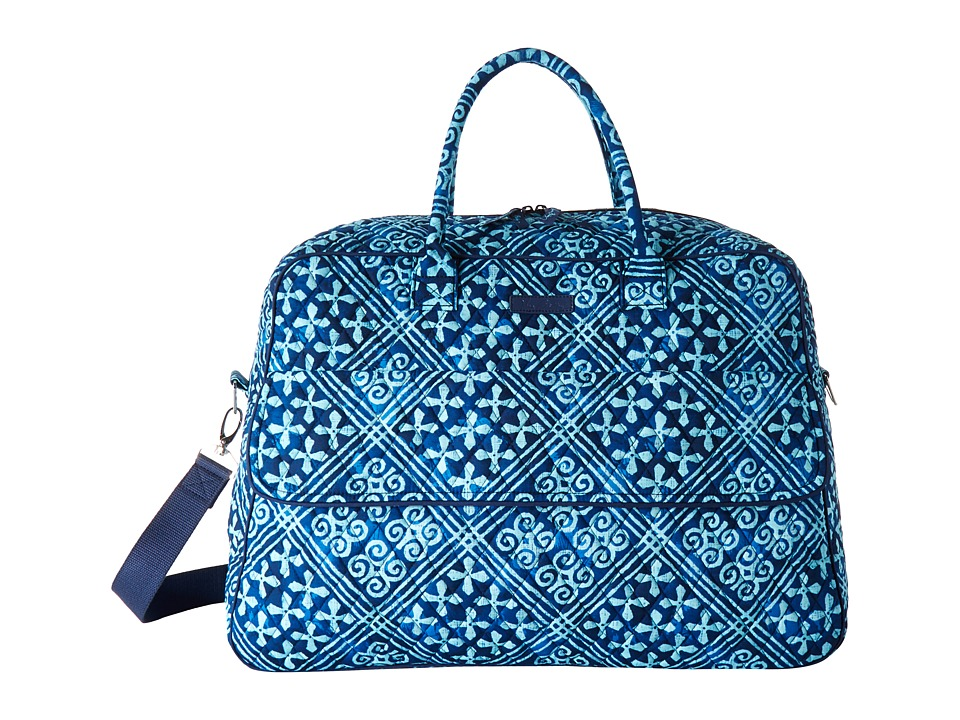 Vera Bradley Luggage - Grand Traveler (Cuban Tiles) Handbags
