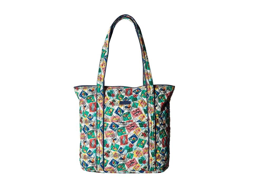 Vera Bradley - Vera (Cuban Stamps) Tote Handbags