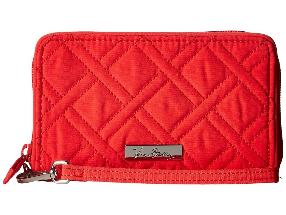 Vera Bradley - RFID Grab Go Wristlet (Canyon Sunset) Wristlet Handbags