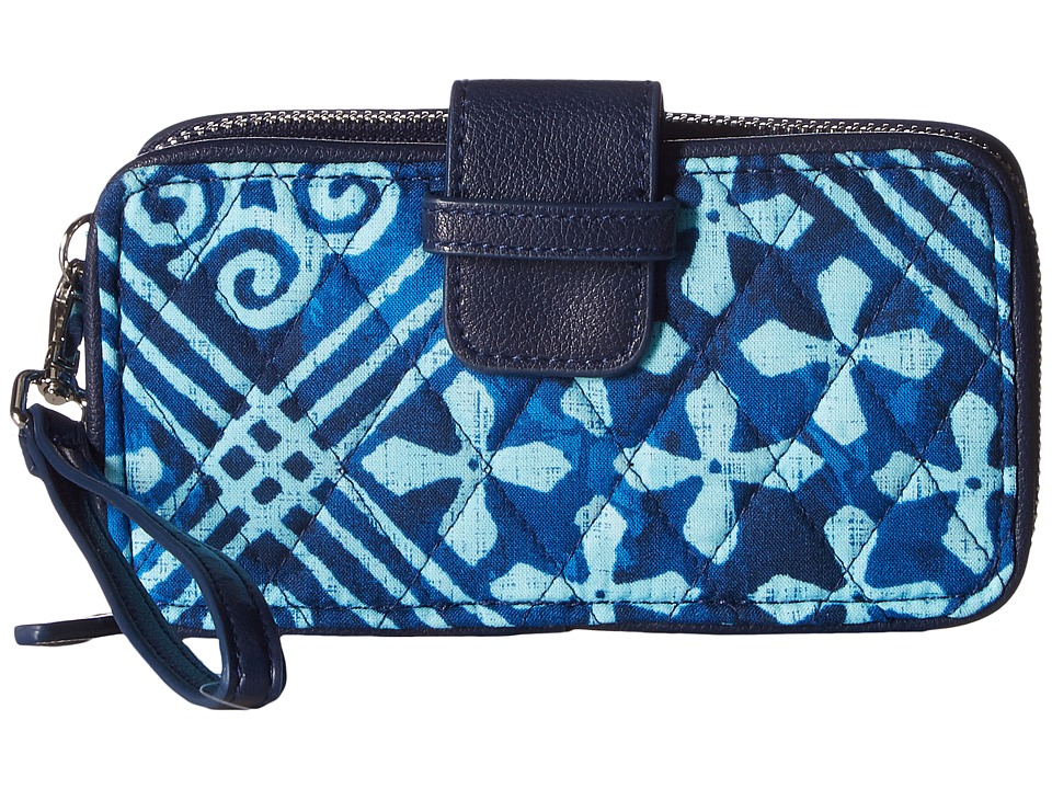 Vera Bradley - RFID Smartphone Wristlet (Cuban Tiles) Wristlet Handbags
