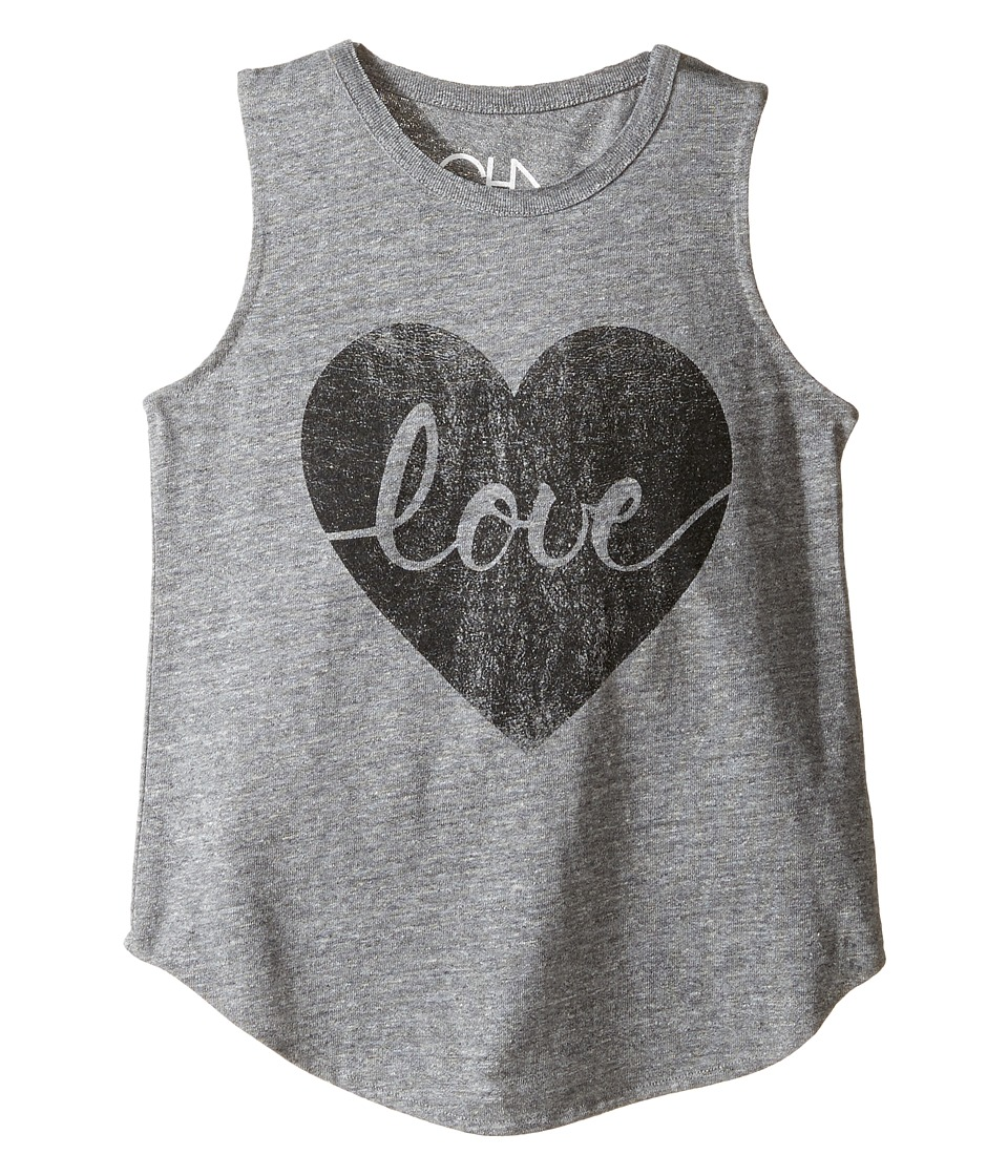 Chaser Kids - Tri-Blend Muscle Tank (Little Kids/Big Kids) (Heart Love) Girl's T Shirt