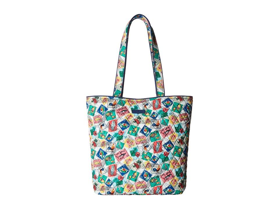 Vera Bradley - Tote (Cuban Stamps) Tote Handbags