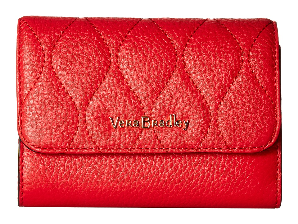 Vera Bradley - Riley Compact Wallet (Canyon Sunset) Wallet Handbags