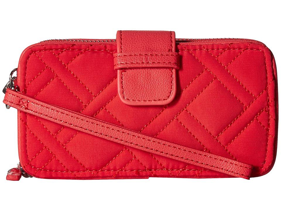 Vera Bradley - RFID Smartphone Wristlet (Canyon Sunset) Wristlet Handbags
