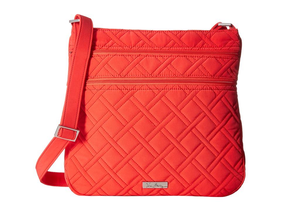Vera Bradley - Triple Zip Hipster (Canyon Sunset) Cross Body Handbags