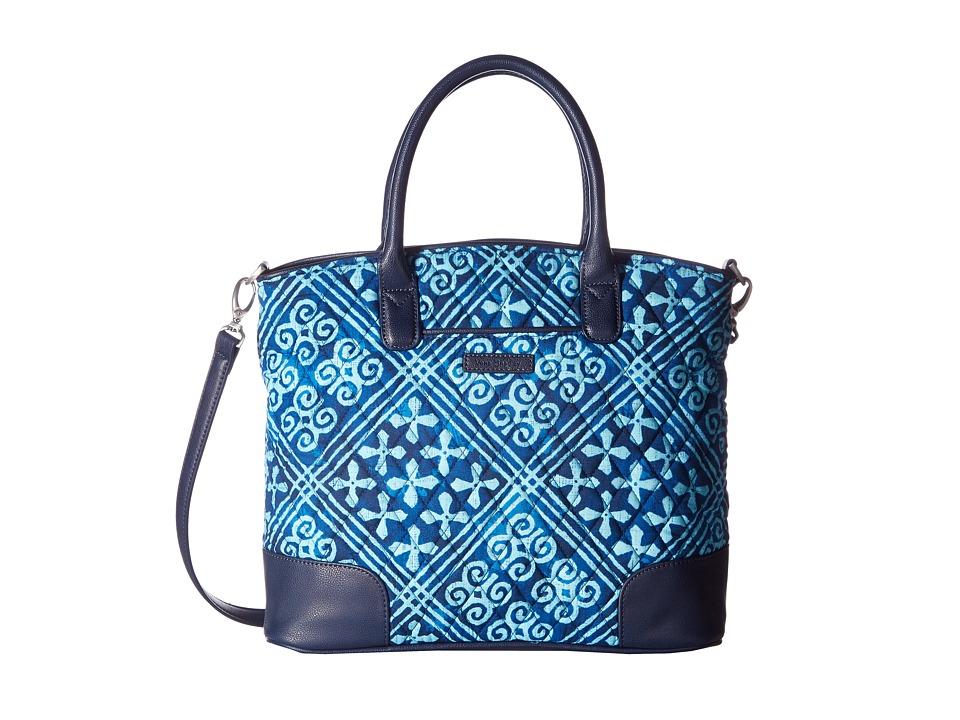 Vera Bradley - Day Off Satchel (Cuban Tiles) Satchel Handbags