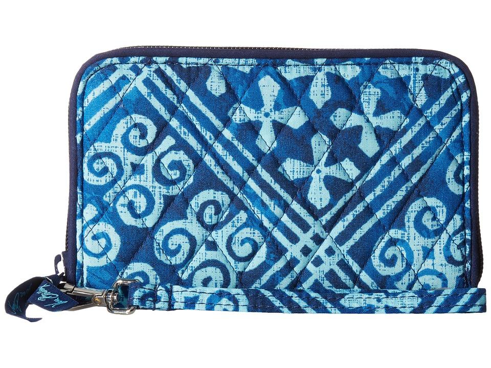 Vera Bradley - RFID Grab Go Wristlet (Cuban Tiles) Wristlet Handbags