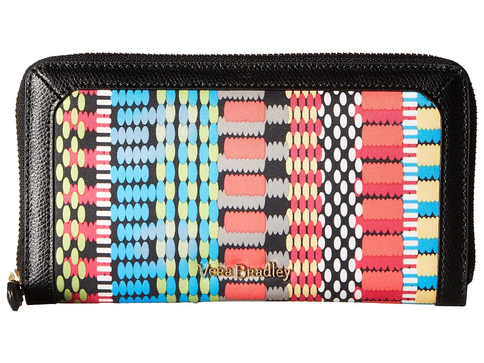 Vera Bradley - RFID Georgia Wallet (Cha-Cha) Wallet Handbags