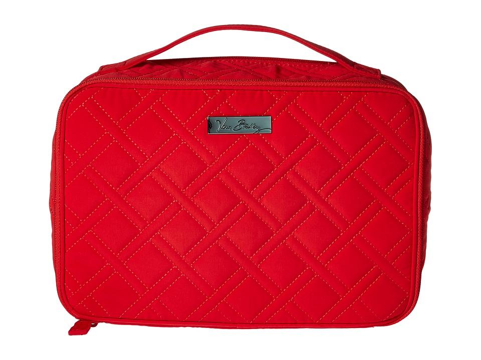 Vera Bradley Luggage - Large Blush Brush Makeup Case (Canyon Sunset) Cosmetic Case