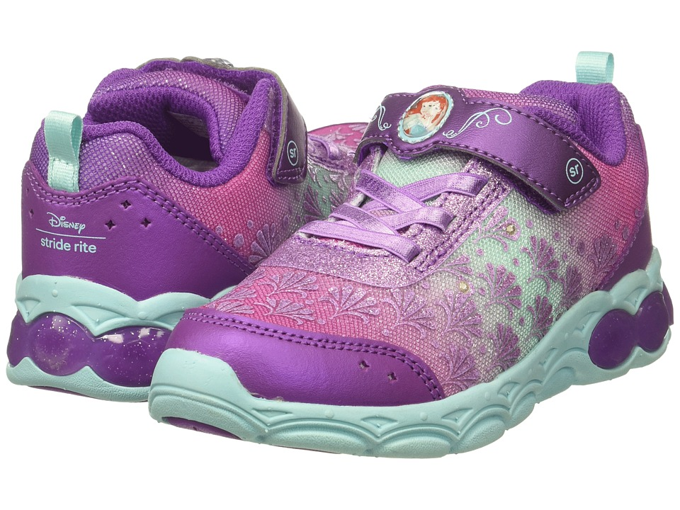 Stride Rite - Disney Ariel Ocean Adventurer (Toddler/Little Kid) (Pink/Purple/Turquoise) Girls Shoes