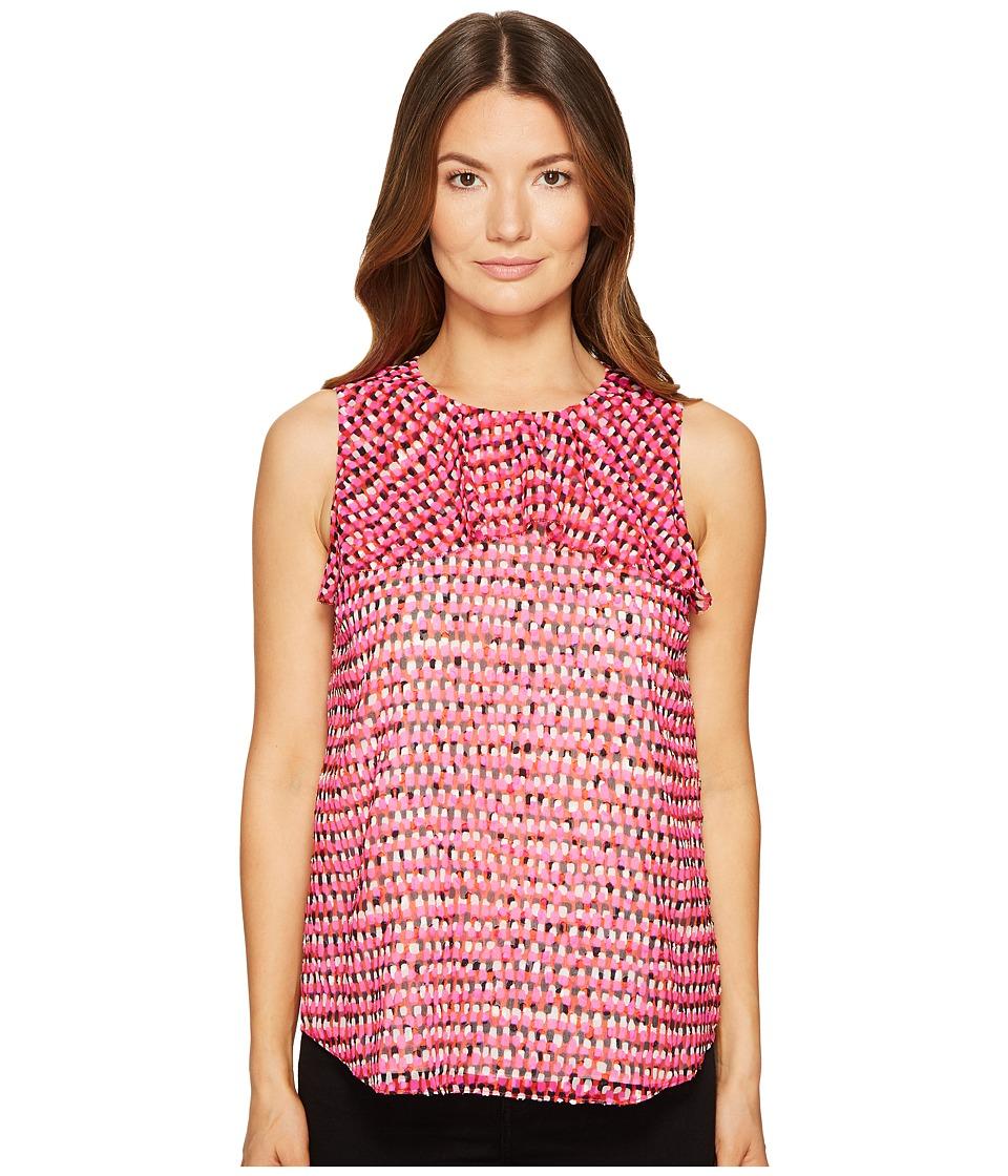 Kate Spade New York - Pinata Flounce Top (Multi) Women's Clothing