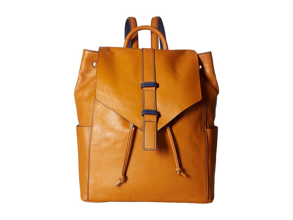 Vera Bradley - Big Sky Backpack (Golden Tan) Backpack Bags