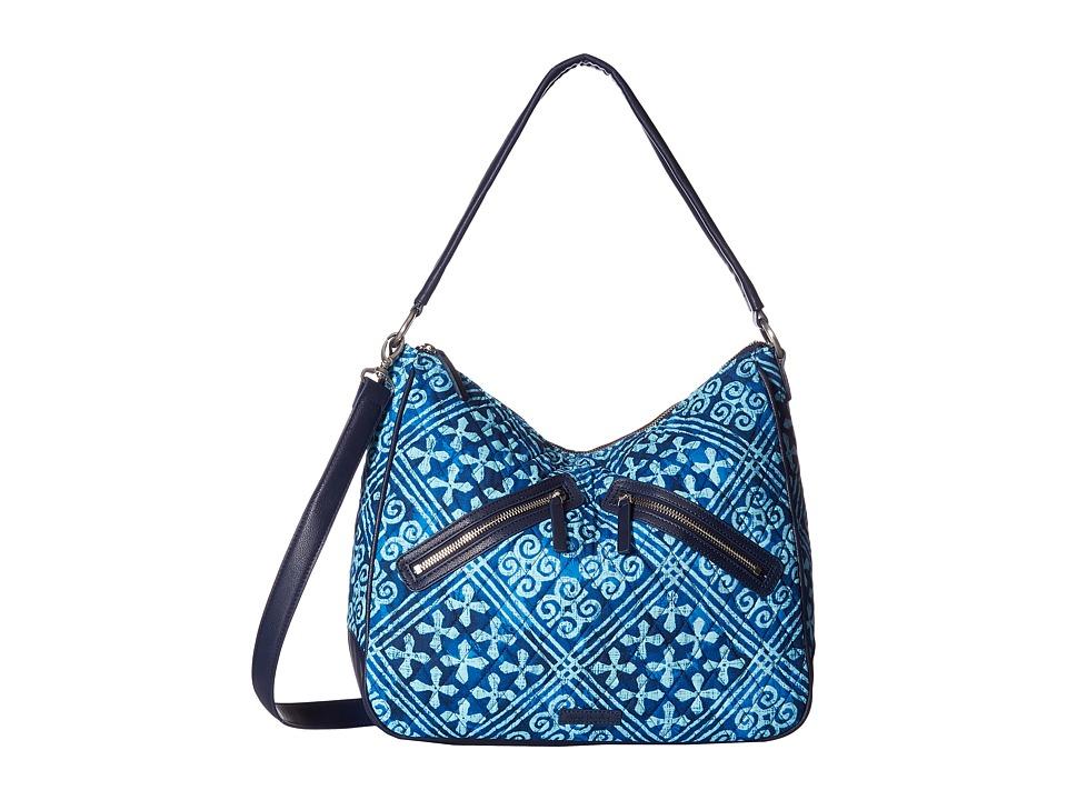 Vera Bradley - Vivian Hobo Bag (Cuban Tiles) Hobo Handbags