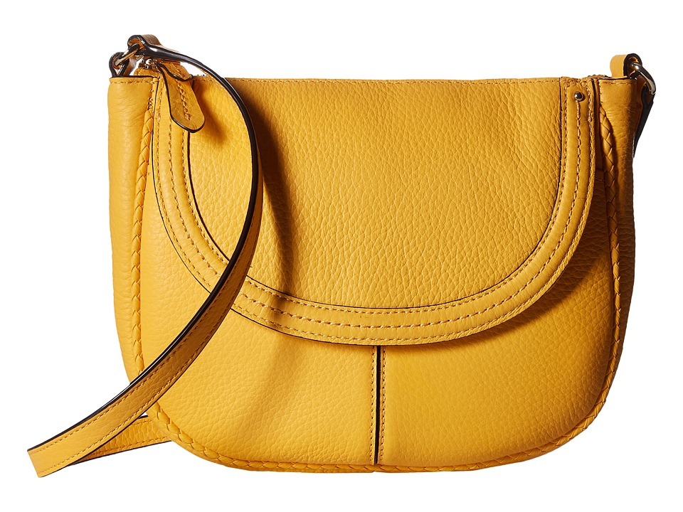 Cole Haan - Tali Saddle Crossbody (Sunglow) Cross Body Handbags