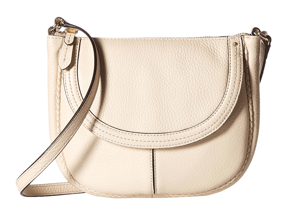 Cole Haan - Tali Saddle Crossbody (Sandshell) Cross Body Handbags