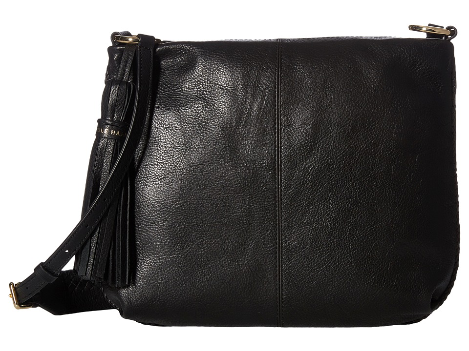 Cole Haan - Adalee Small Hobo Crossbody (Black) Cross Body Handbags