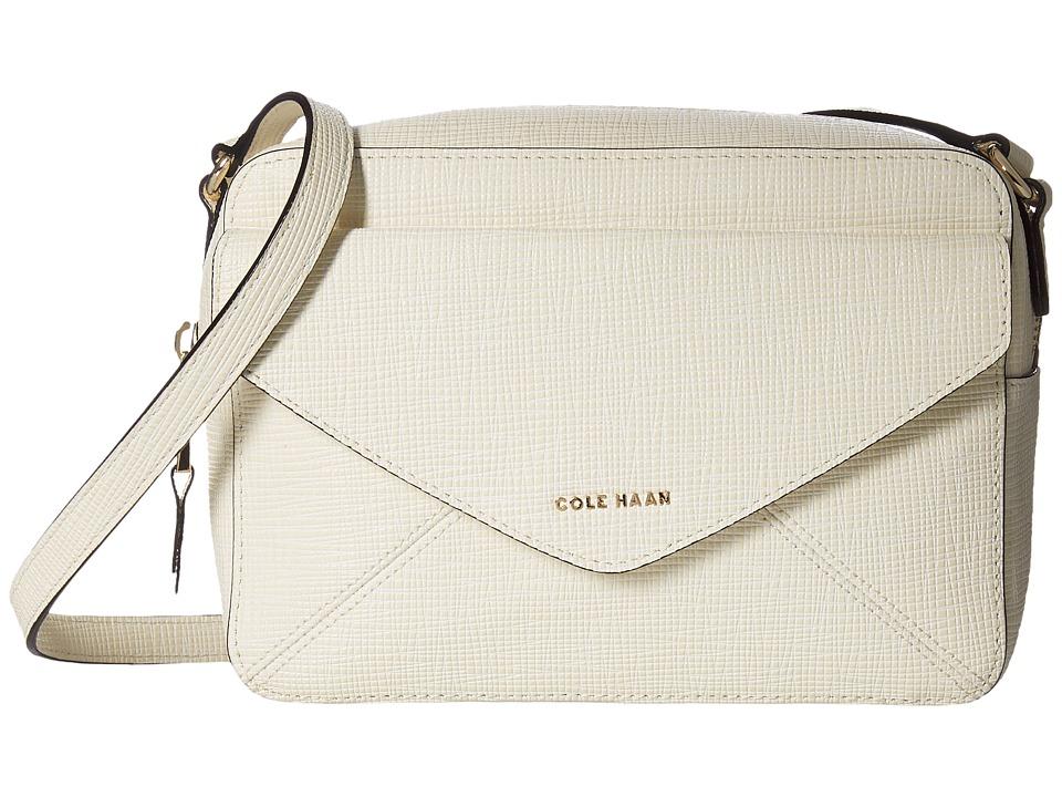 Cole Haan - Abbot Flap Crossbody (Ivory) Cross Body Handbags