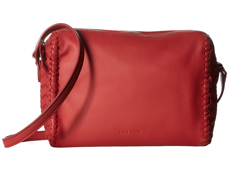 Cole Haan - Dillan Crossbody (Mineral Red) Cross Body Handbags