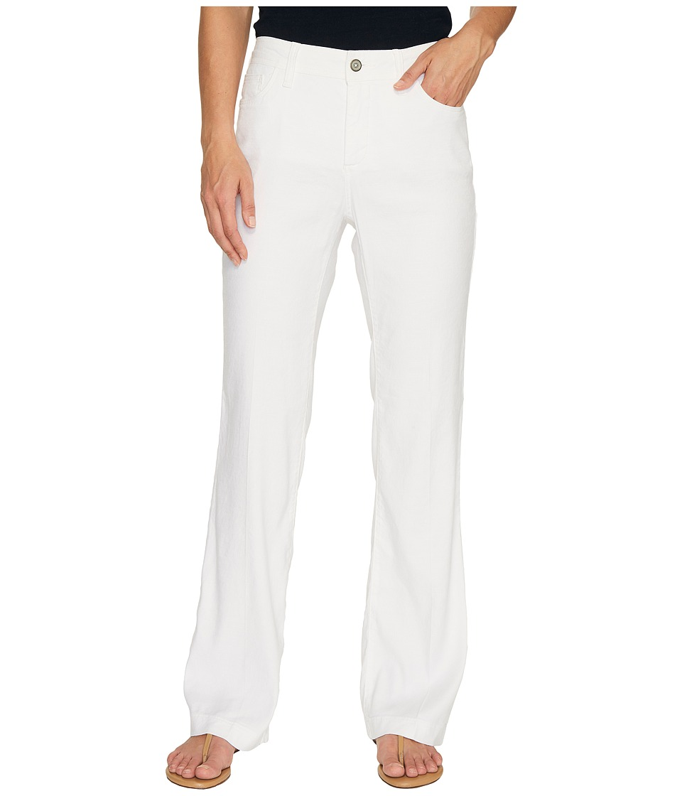 NYDJ - Wylie Trousers (Optic White) Women's Casual Pants