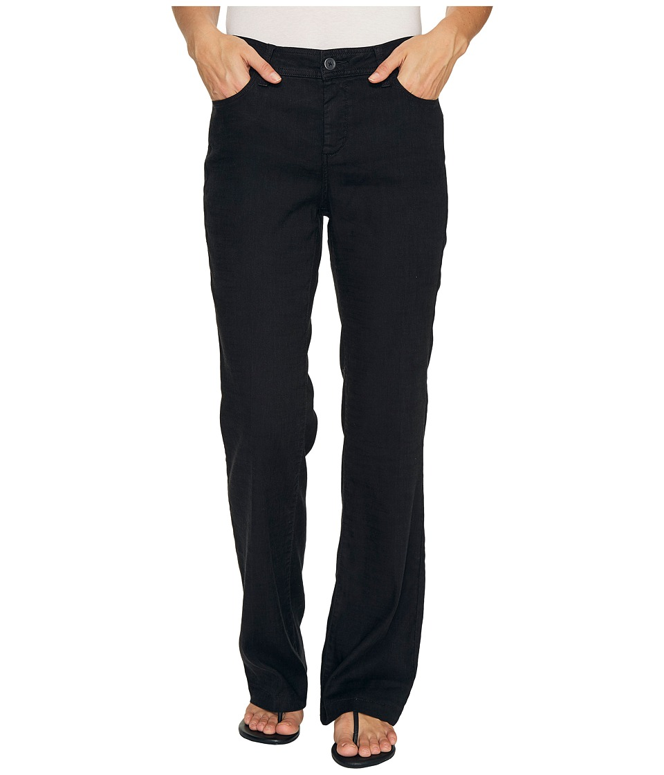NYDJ - Wylie Trousers (Black) Women's Casual Pants