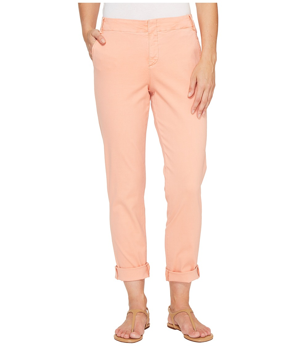 NYDJ - Clean Chino (Pink Grapefruit) Women's Casual Pants