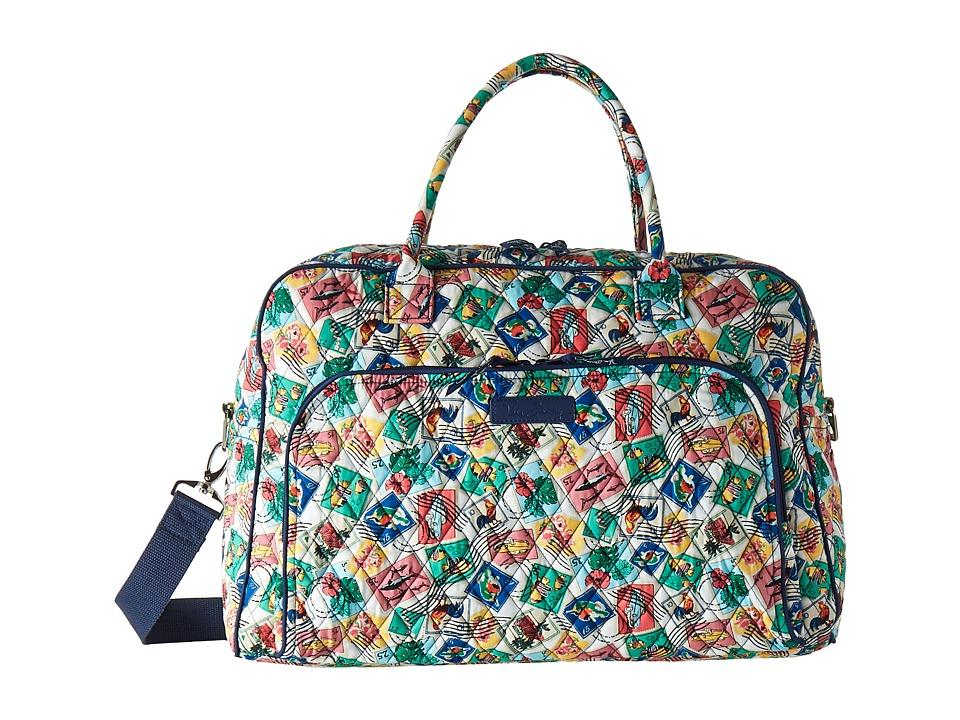 Vera Bradley Luggage - Weekender (Cuban Stamps) Bags
