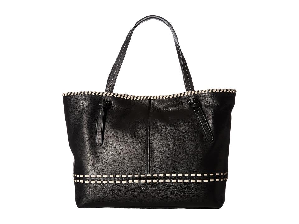 Cole Haan - Brynn Tote (Black/Sandshell) Tote Handbags