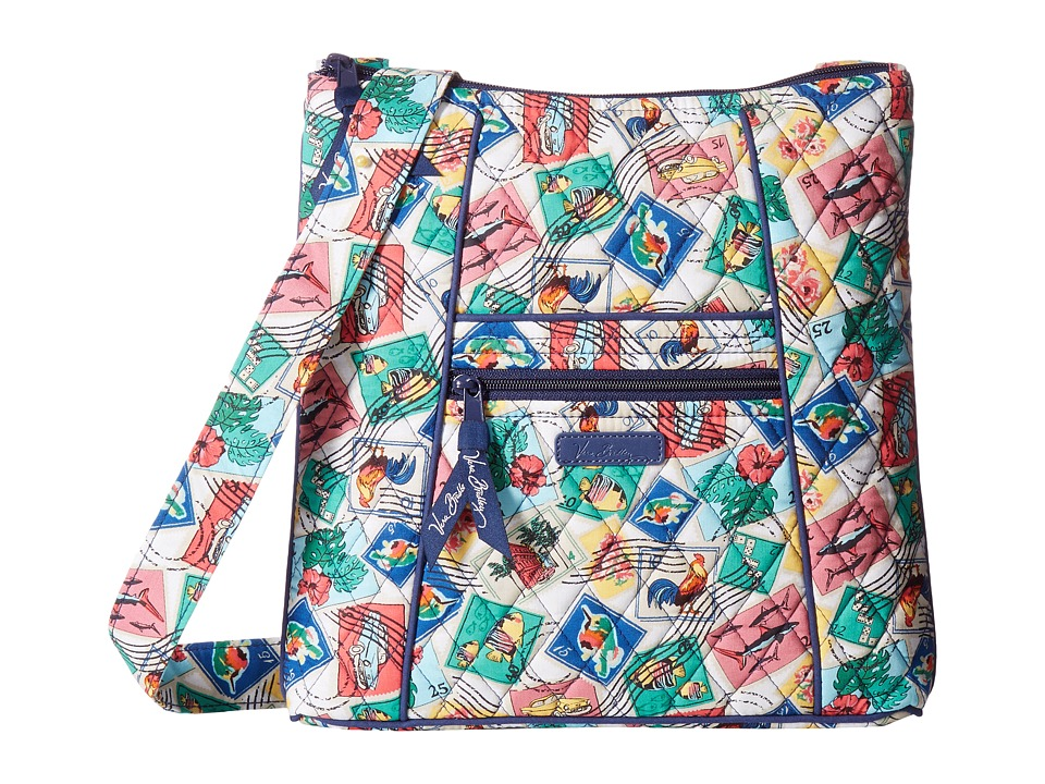 Vera Bradley - Hipster (Cuban Stamps) Cross Body Handbags