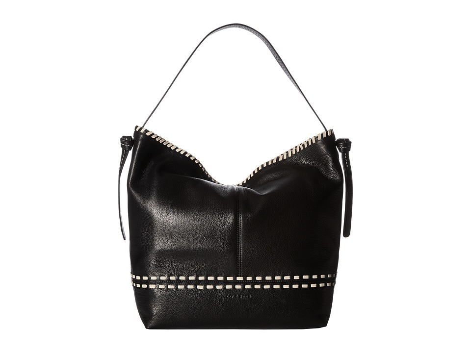 Cole Haan - Brynn Hobo (Black/Sandshell) Hobo Handbags