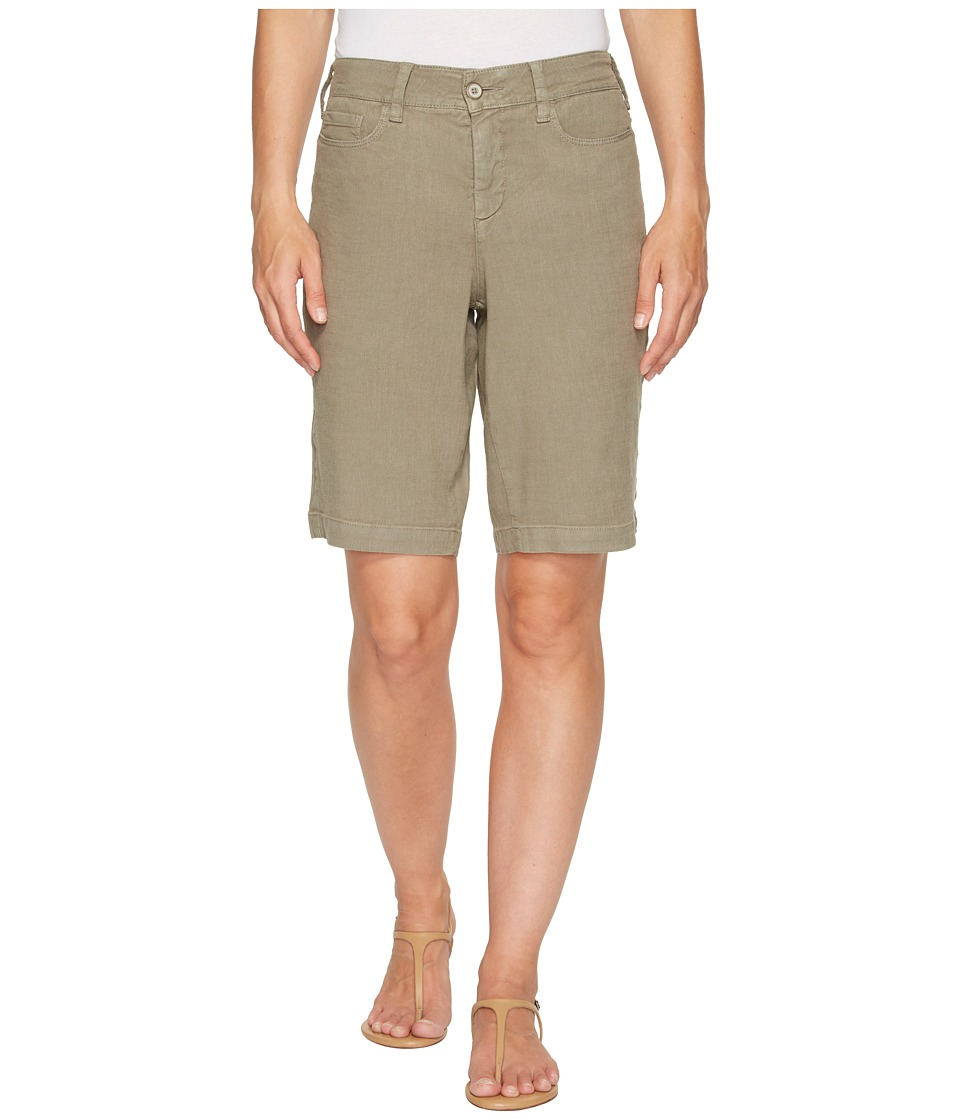 NYDJ - Catherine Shorts (Sergeant Olive) Women's Shorts