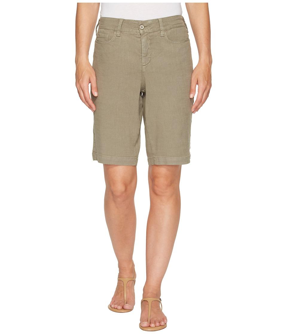 NYDJ - Catherine Shorts (Sergeant Olive) Women's Shorts
