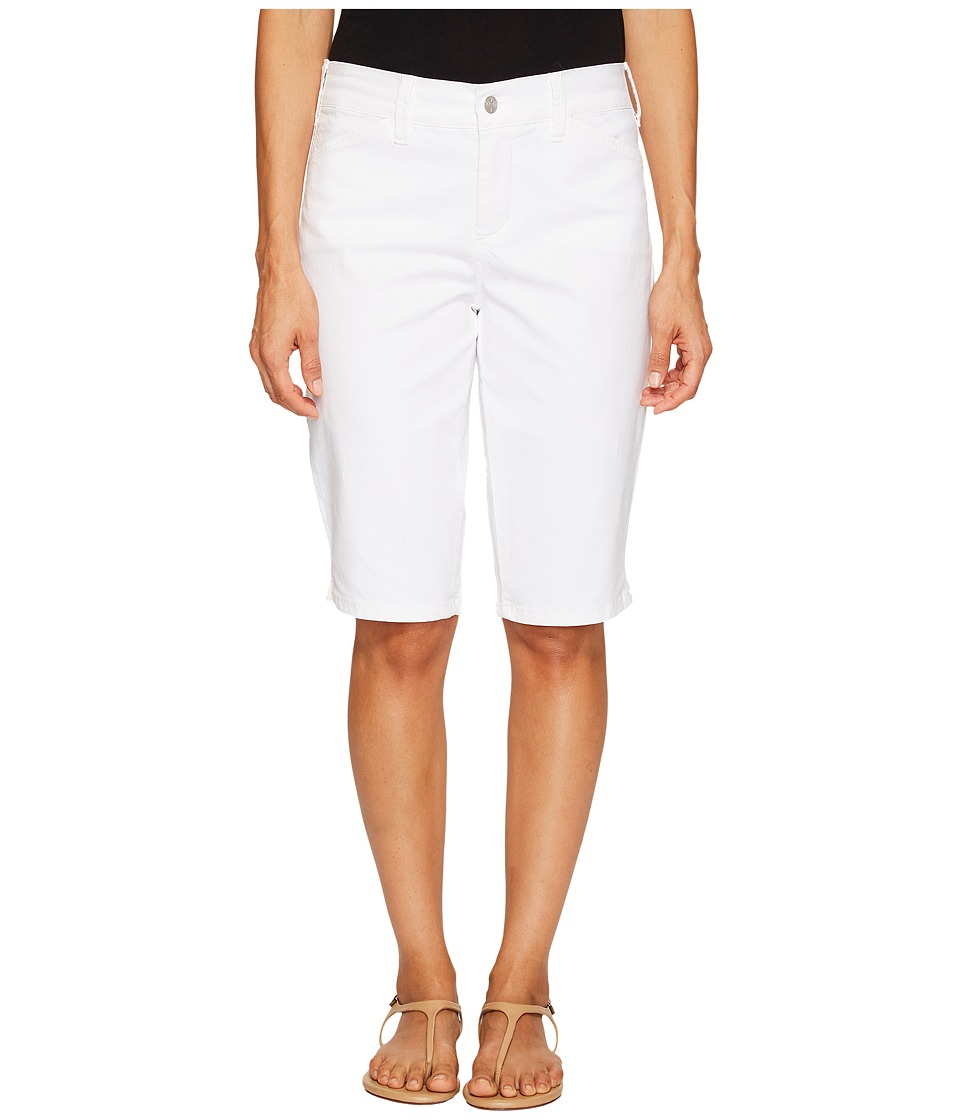 NYDJ - Chino Shorts (Optic White) Women's Shorts