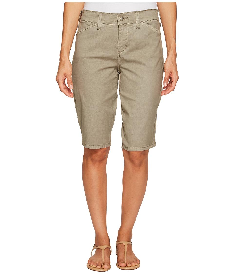NYDJ - Chino Shorts (Sergeant Olive) Women's Shorts