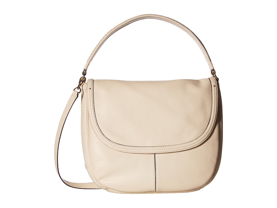 Cole Haan - Tali Double Strap Saddle (Sandshell) Handbags