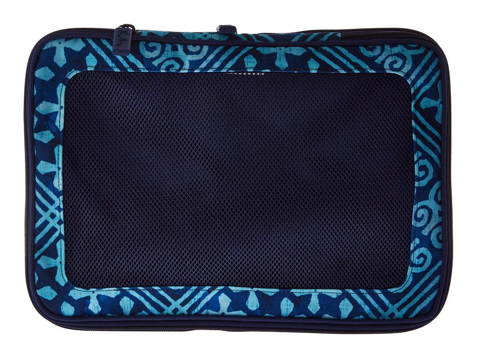 Vera Bradley Luggage - Medium Expandable Packing Cube (Cuban Tiles) Luggage