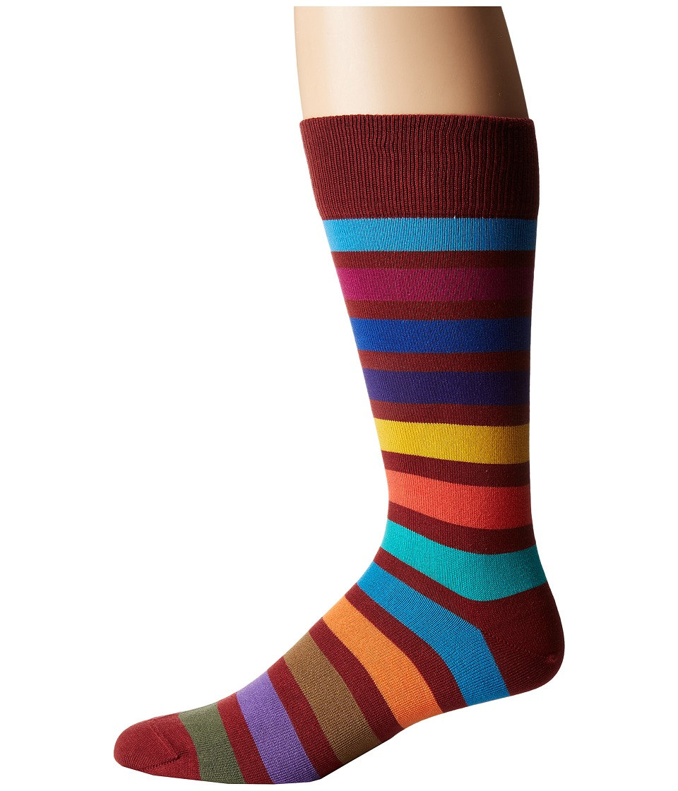 Paul Smith - Bright Block Sock (Multi 3) Men's Crew Cut Socks Shoes