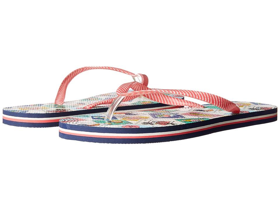 Vera Bradley - Flip Flops (Cuban Stamps) Women's Slippers