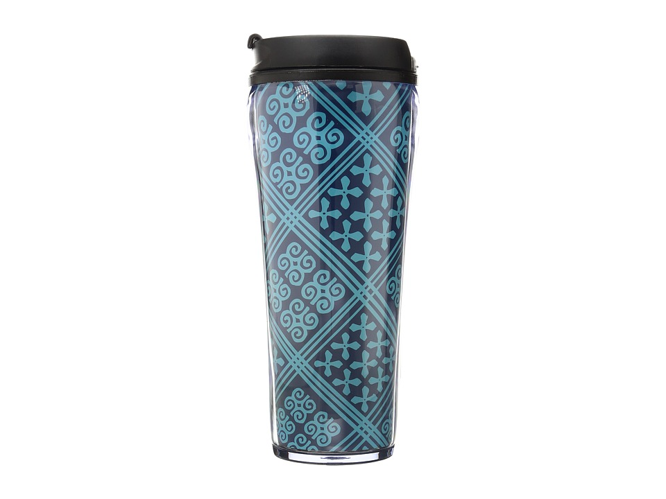 Vera Bradley - Travel Mug (Cuban Tiles) Individual Pieces Cookware