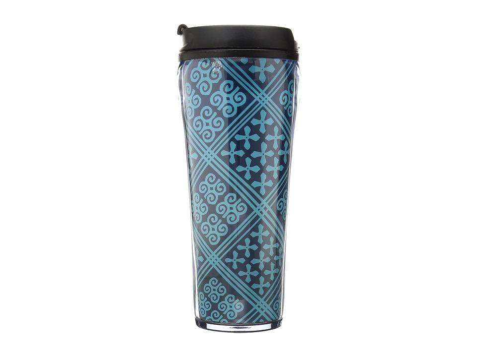 Vera Bradley - Travel Mug (Cuban Tiles) Individual Pieces Cookware