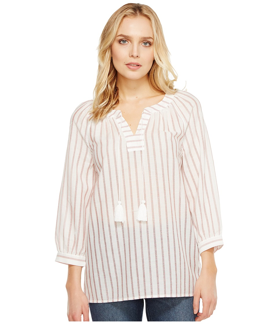 NYDJ - Stripe Popover (Natural) Women's Clothing