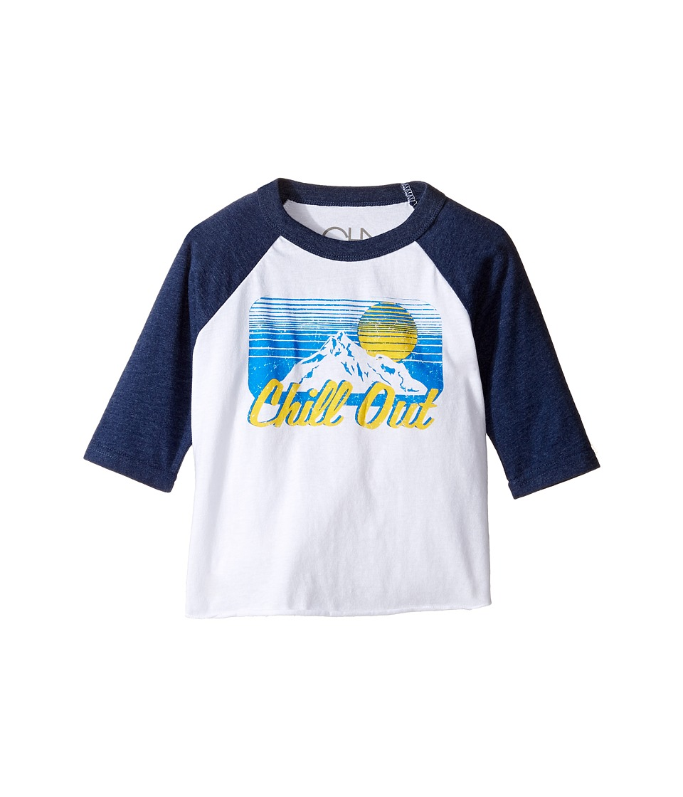 Chaser Kids - Vintage Baseball Tee (Toddler/Little Kids) (Chill Out) Boy's T Shirt