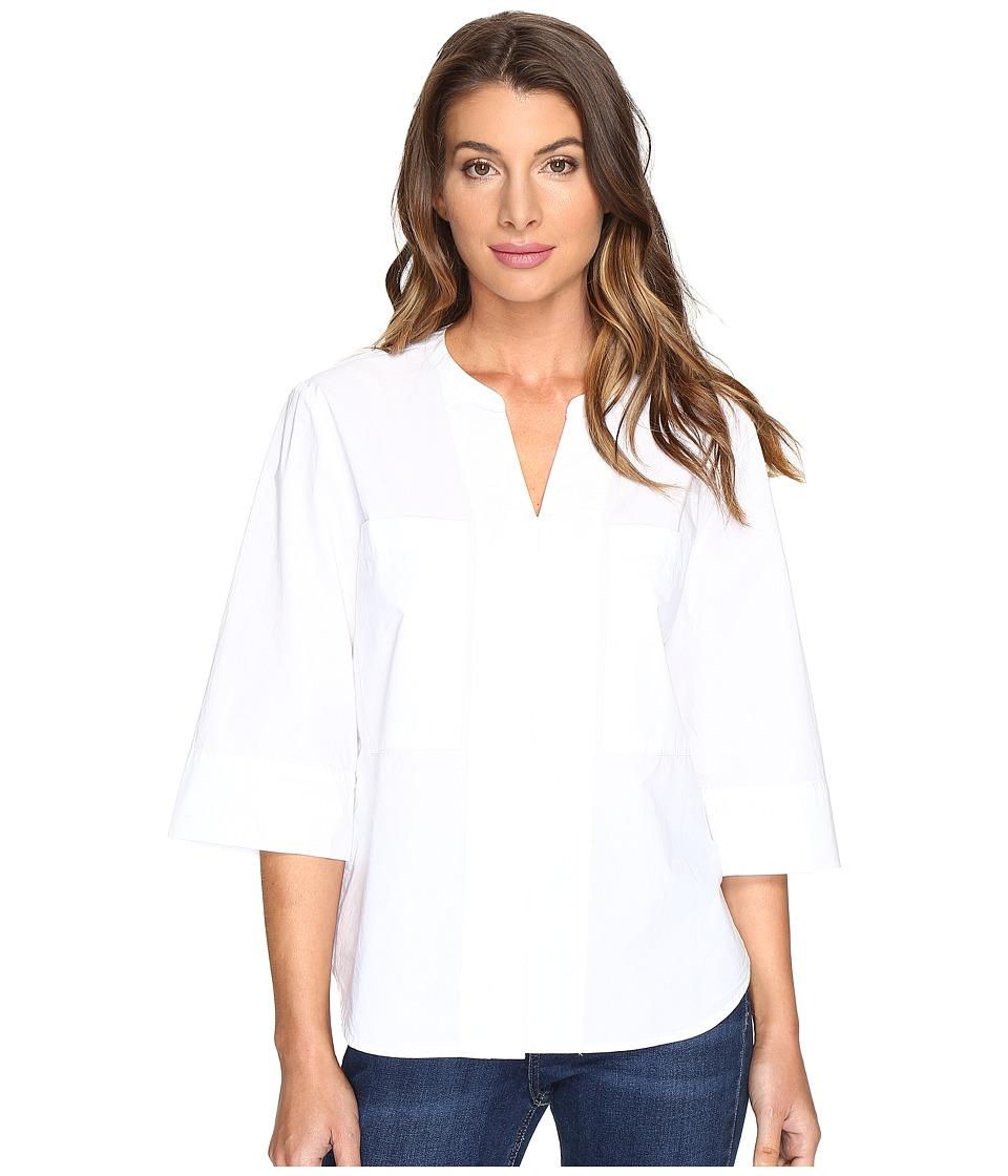 NYDJ - Dillon Shirt (Optic White) Women's Clothing
