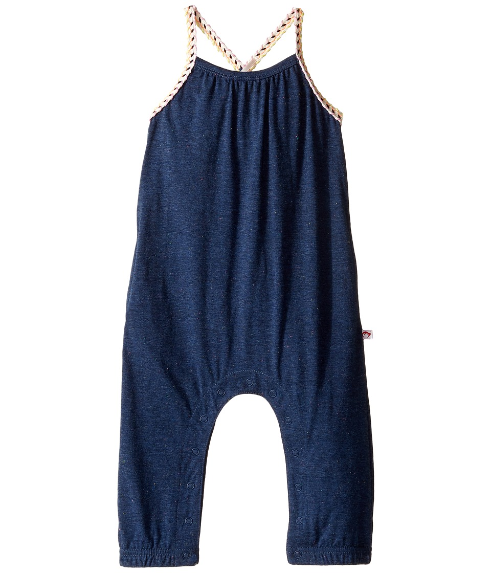 Appaman Kids - Syros Jumper (Infant/Toddler/Little Kids/Big Kids) (Speckled Navy) Girl's Jumpsuit & Rompers One Piece