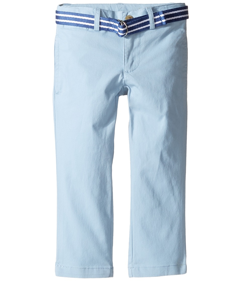 Polo Ralph Lauren Kids - Stretch Chino Suffield Pants (Toddler) (Hampton Blue) Boy's Casual Pants