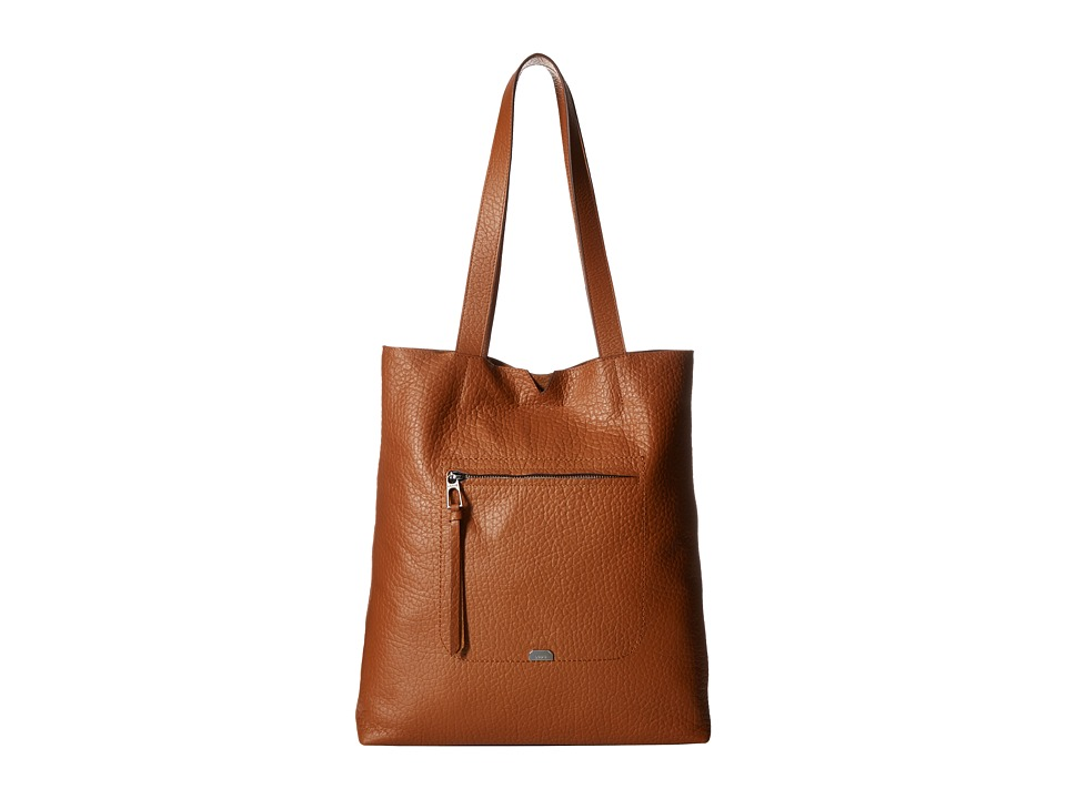Lodis Accessories - Borrego Madia Large Tote (Toffee) Tote Handbags