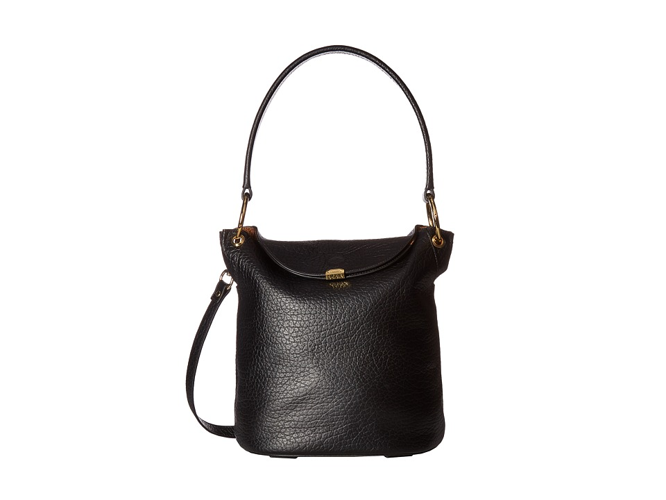 Lodis Accessories - Borrego Lainy Convertible Bucket (Black) Handbags