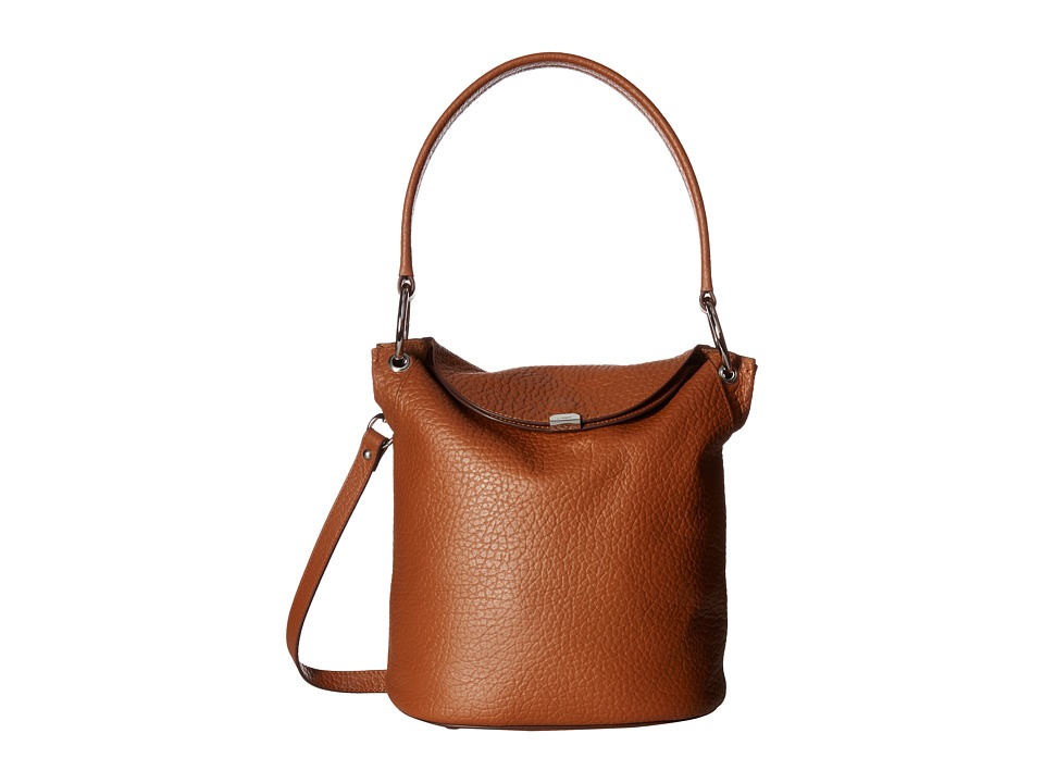 Lodis Accessories - Borrego Lainy Convertible Bucket (Toffee) Handbags
