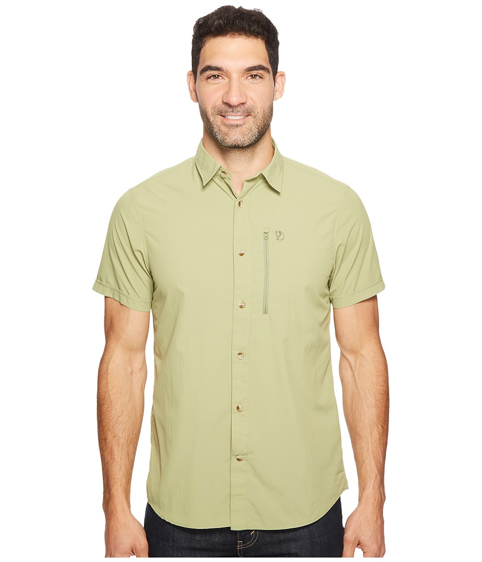 Fjallraven - Abisko Hike Shirt Short Sleeve (Willow) Men's Clothing