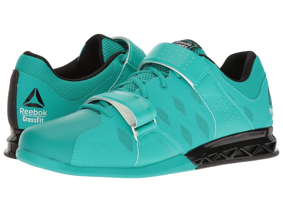 Reebok - Crossfit Lifter Plus 2.0 (CFG/Neon Pacific/Black) Men's Shoes